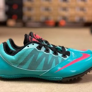 Nike Zoom Rival S 7 Womens Track Spike Shoes Multi